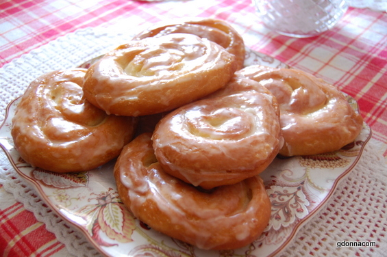 Fried Sweet Buns Cooking From Scratch Gdonna S