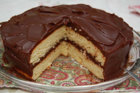 Cooked Chocolate Cake Icing